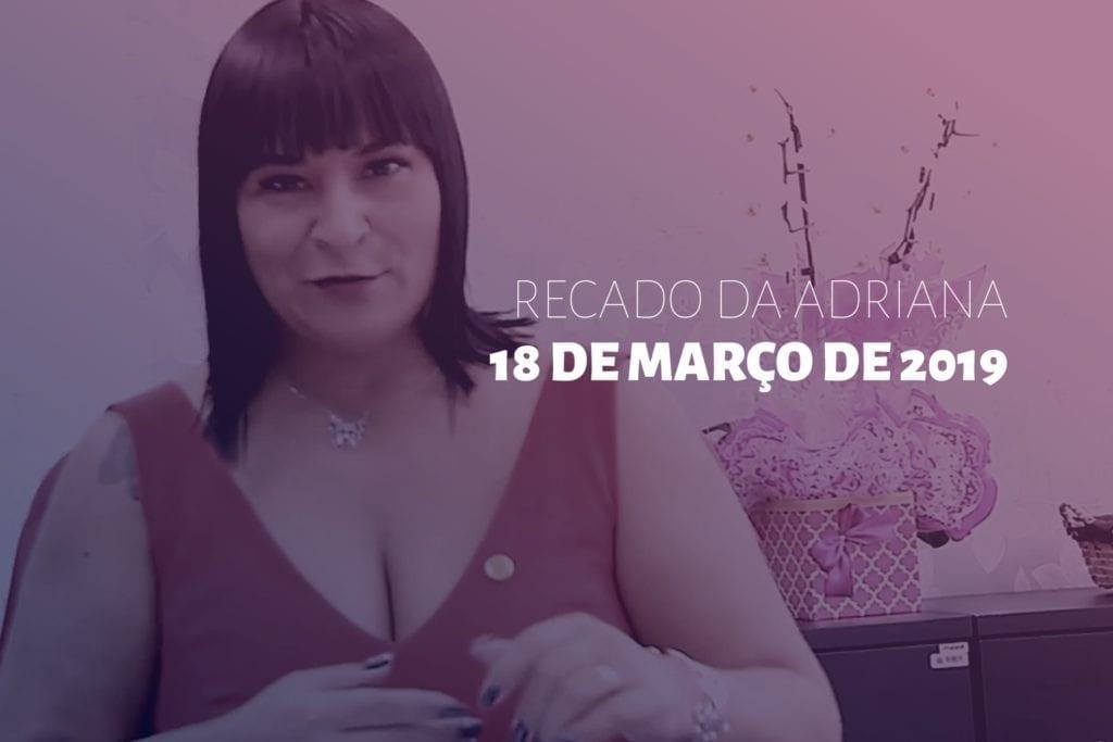 ADRIANA BORGO - Recado 1º dia ALESP 2019
