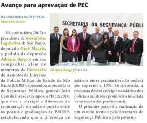 Adriana Borgo - Na Midia - Diario Oficial do Estado de Sao Paulo - 02 de abril de 2019