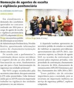 Adriana Borgo - Na Midia - Diario Oficial do Estado de Sao Paulo - 26 de marco de 2019 - 2