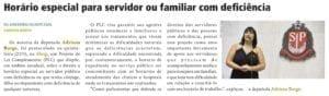 Adriana Borgo - Na Midia- Diario Oficial do Estado de Sao Paulo - 28 de maio de 2019