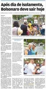 Adriana Borgo - Na Midia - Jornal A Tribuna de Santos - 13 de Janeiro de 2020