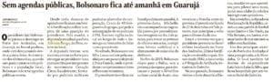 Adriana Borgo - Na Midia - Jornal O Globo - 13 de Janeiro de 2020