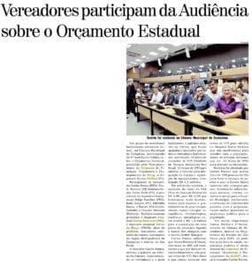 Adriana Borgo na Midia - Diario de Santa Barbara dOeste - 12 de Outubro de 2019