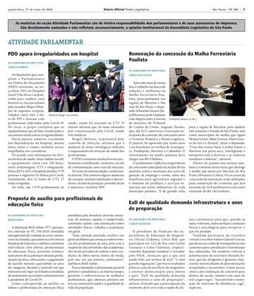 Adriana Borgo - Na Midia - Diario Oficial do Estado de Sao Paulo - 27 de maio de 2020