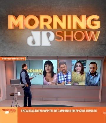 Adriana Borgo - Na Midia - Morning Show Jovem Pan - 05 de junho de 2020