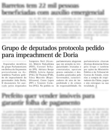 Adriana Borgo - Na Midia - Diario de Barretos - 17 de julho de 2020