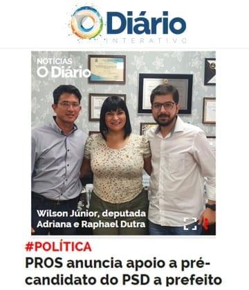 Adriana Borgo - Na Midia - O Diario de Barretos - 23 de julho de 2020