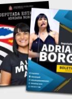 Adriana Borgo - Boletins - Duas capas